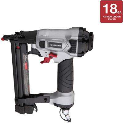 Pneumatic 1.25 in. x 18-Gauge Narrow Crown Stapler