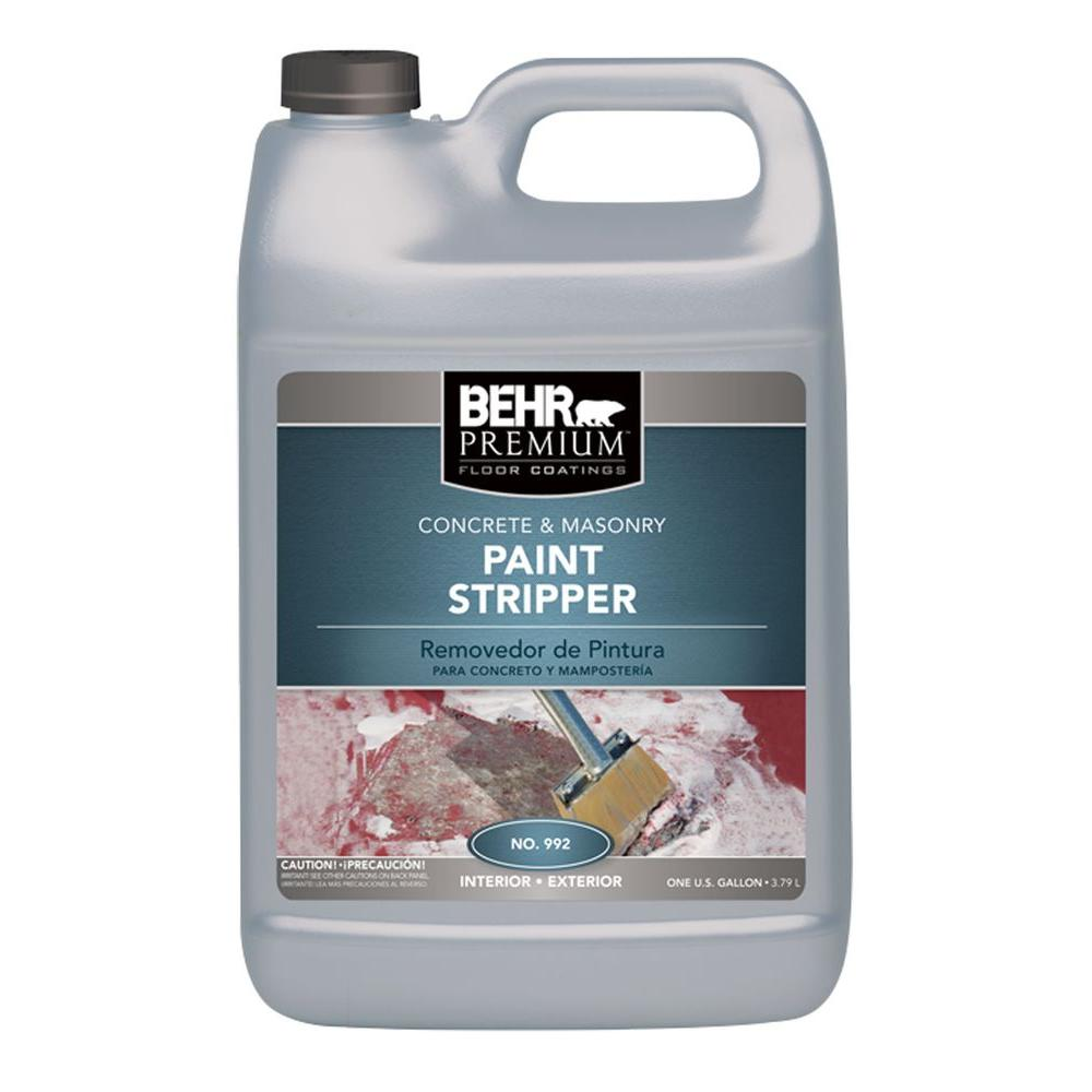 behr 1 gal concrete and masonry paint stripper 99201 the home depot rh homedepot com  homemade oil based paint remover