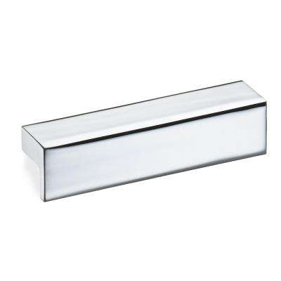 Polished Chrome L Handle Cabinet Pull