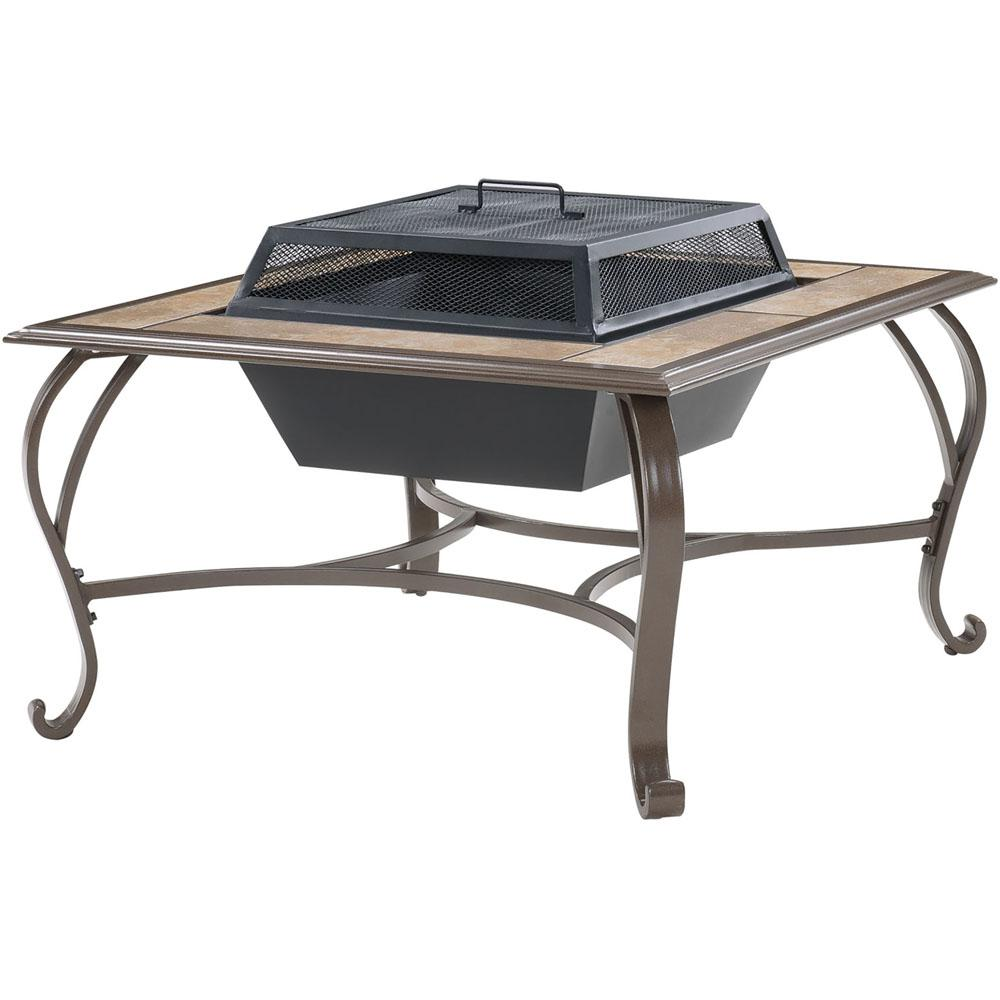Cambridge 38 in wood burning fire pit coffee table for Table 6a of gstr 1