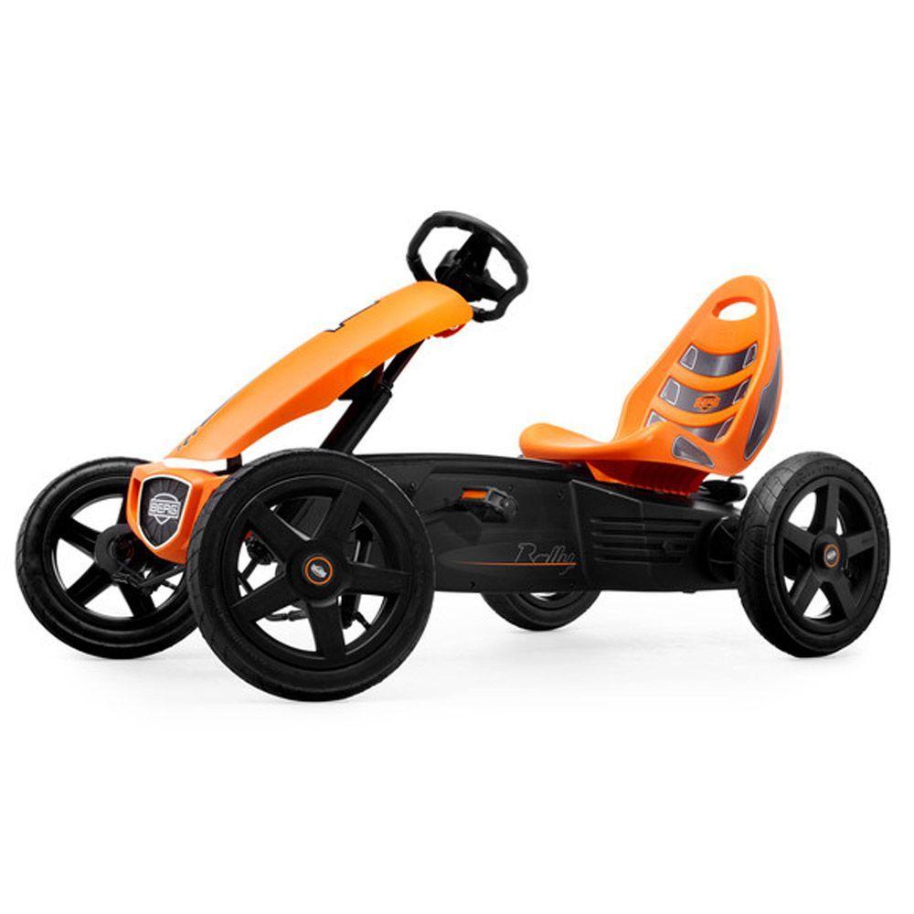 BERG Rally Youth Orange Pedal Go-Kart