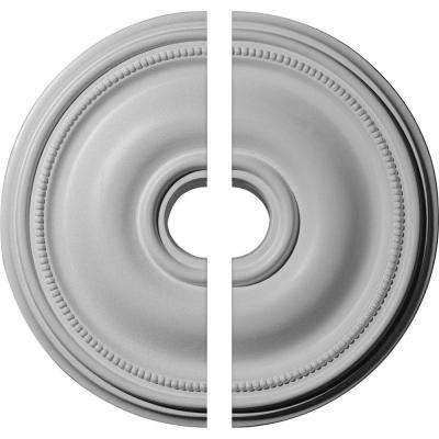 18-1/8 in. O.D. x 3-3/4 in. I.D. x 1-1/8 in. P Bradford Ceiling Medallion (2-Piece)