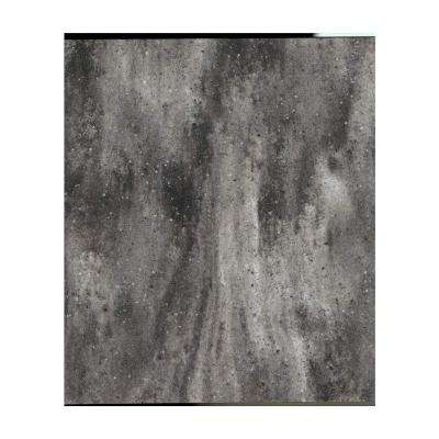2 in. x 2 in. Solid Surface Countertop Sample in Gallery Marble