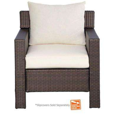 Beverly Patio Deep Seating Chair with Cushion Insert (Slipcovers Sold Separately)