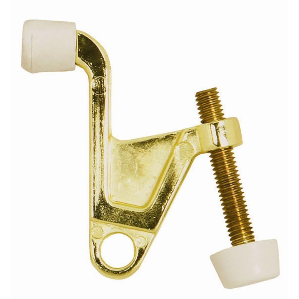 2-1/4 in. x 2-1/8 in. Polished Brass Jumbo Hinge Pin Door