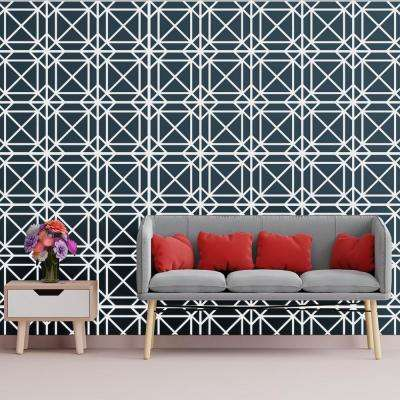 3/8 in. x 15-3/4 in. x 15-3/4 in. Medium Buxton White Architectural Grade PVC Decorative Wall Panels