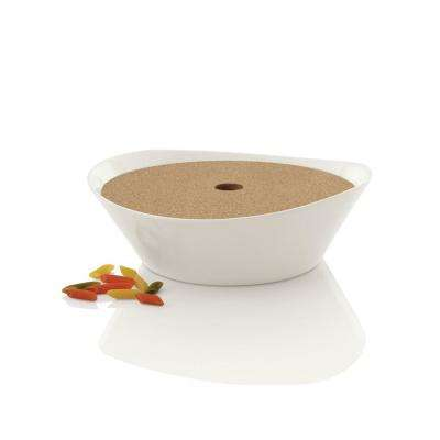 Eclipse Porcelain 11 in. Pasta Bowl with Lid