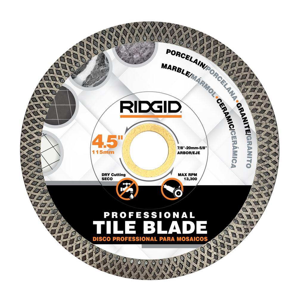ridgid 7 inch professional tile diamond blade model cj70p brand new sointechile cl