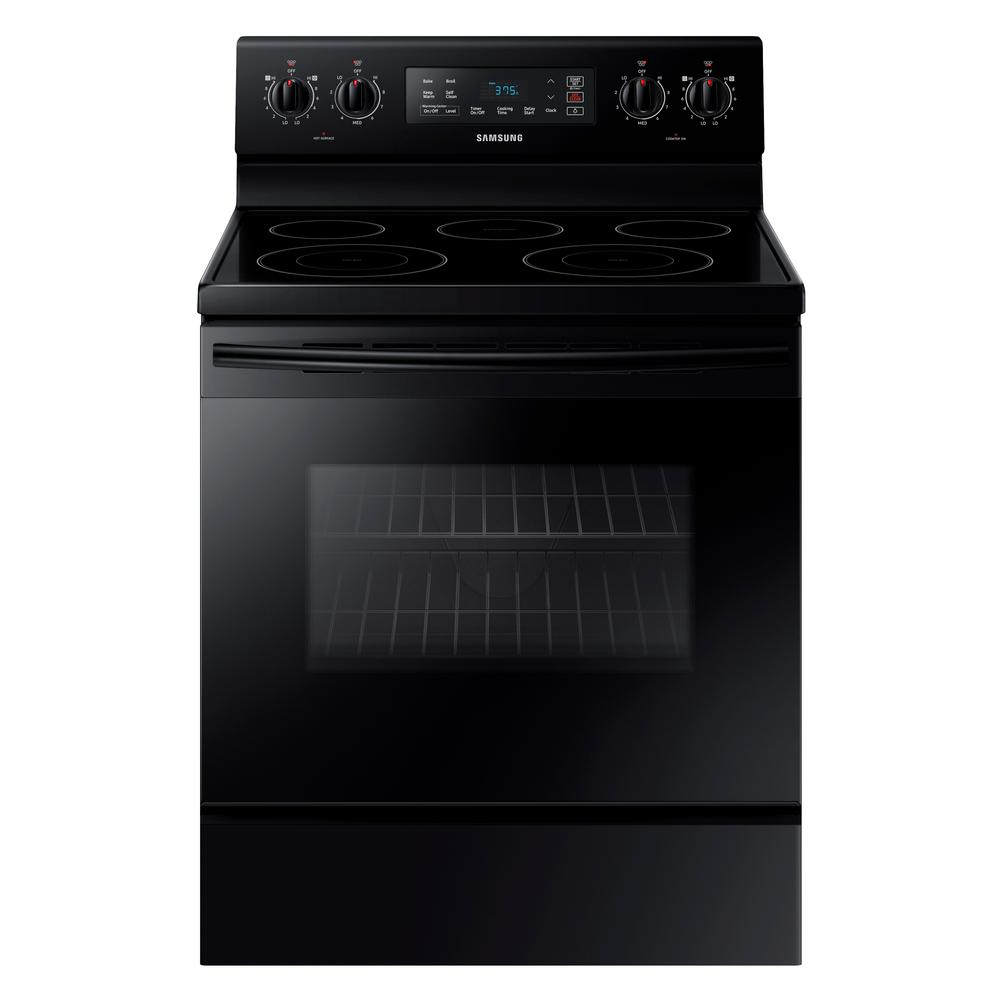 5.9 cu. ft. Freestanding Electric Range with Self Cleaning and 5