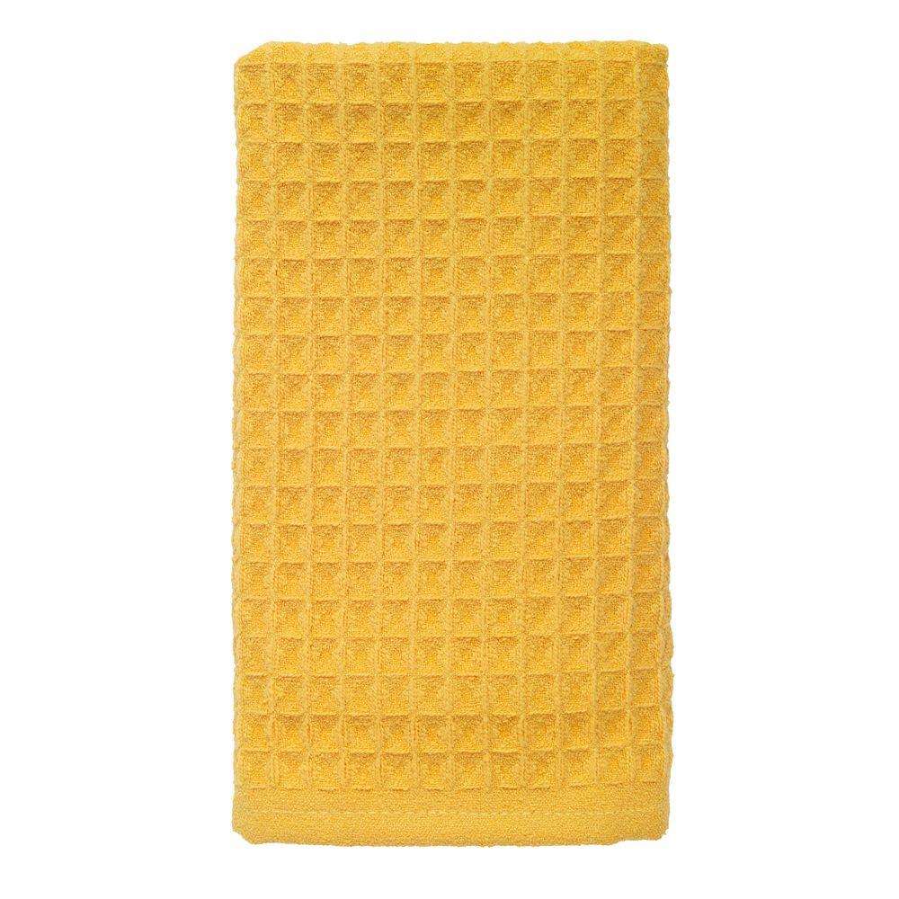 RITZ 16 in. x 26 in. Large Waffle Microfiber Kitchen Towel ...