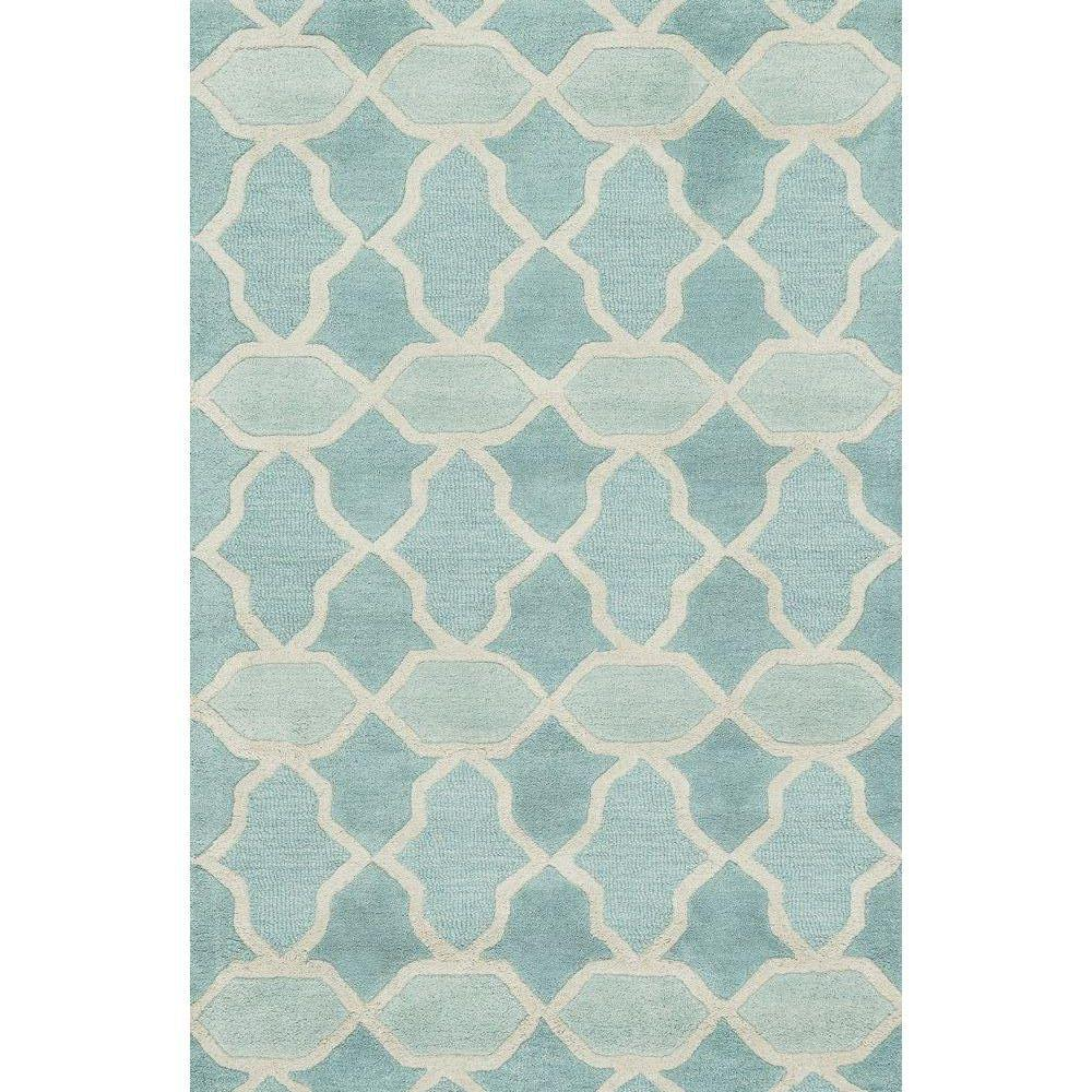 Loloi Rugs Weston Lifestyle Collection Aqua 3 ft. 6 in. x 5 ft. 6 in. Area Rug