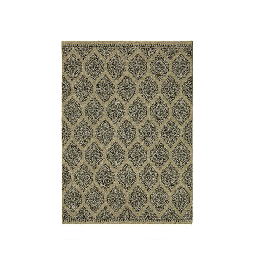 Home Decorators Collection Taurus Beach Grey 5 Ft X 7 Ft