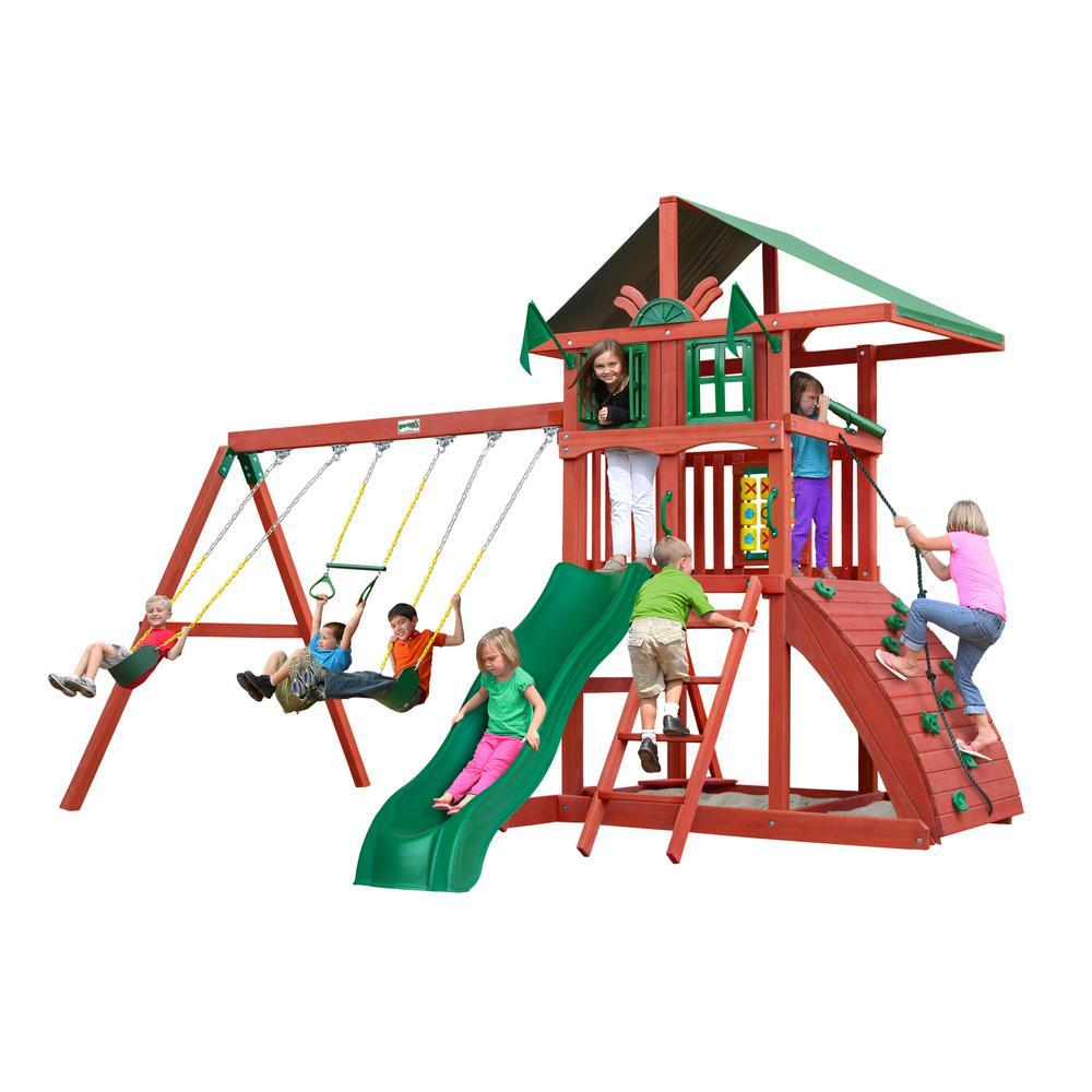 Highcrest Cedar Swing Set