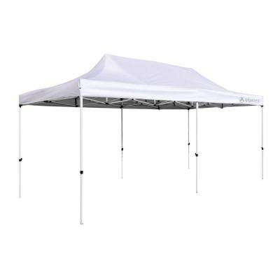Party Tent 10 ft. x 20 ft. White Canopy