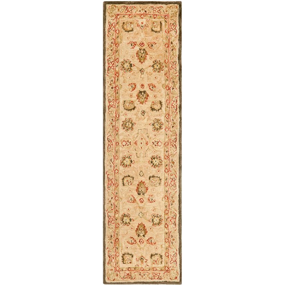 Anatolia Ivory/Beige 2 ft. x 16 ft. Runner Rug