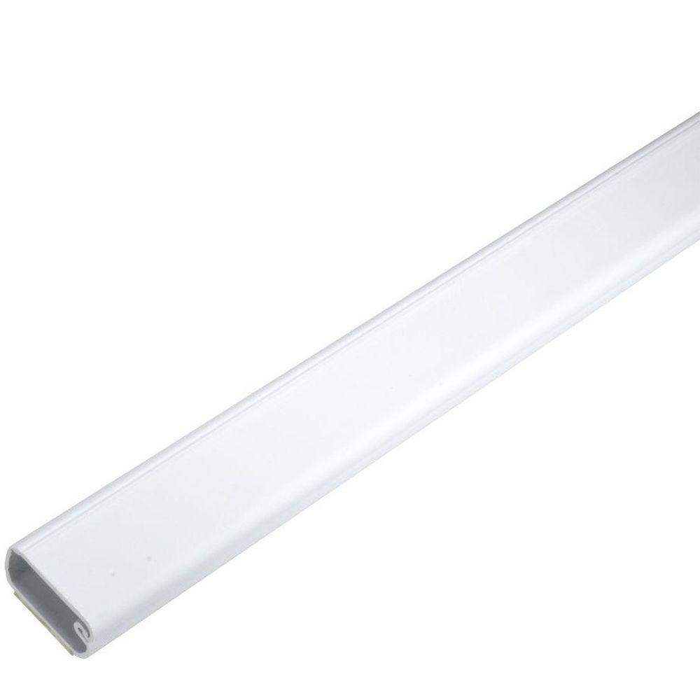 5 ft. CordMate II Channel, White-C50 - The Home Depot