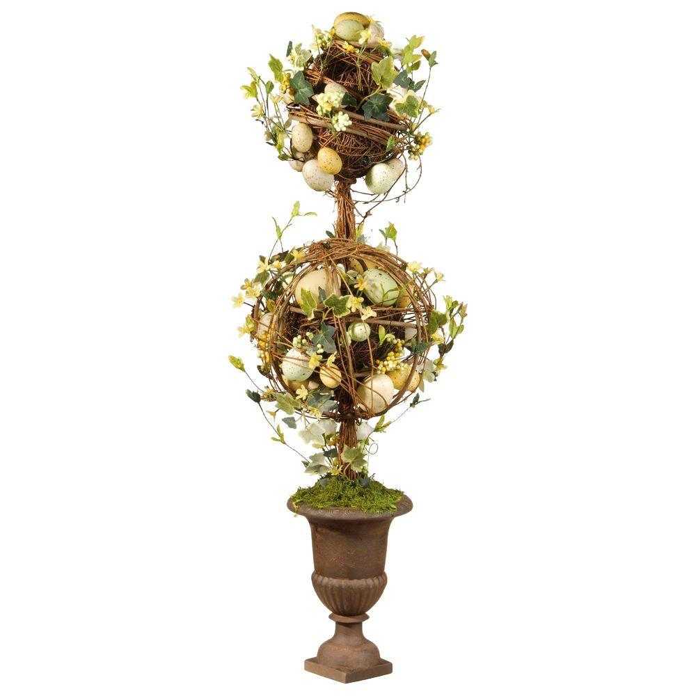 33 in. Topiary Easter Tree