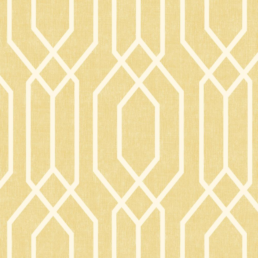 Arthouse New York Geo Yellow Wallpaper 908301 The Home Depot