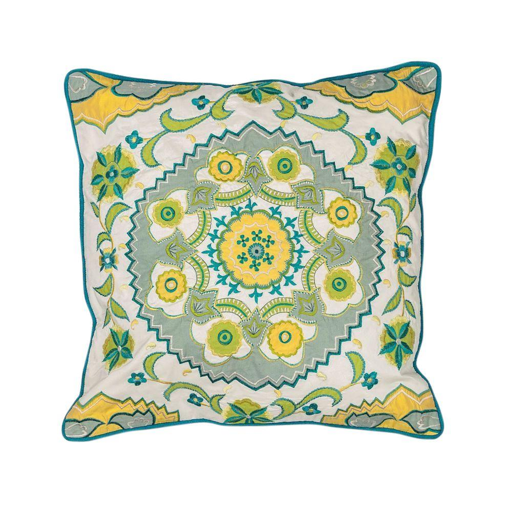 Coachella Blue/Green Decorative Pillow