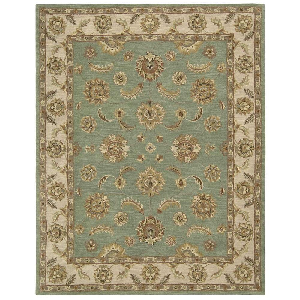 Area Rugs From India: Nourison India House Seafoam 8 Ft. X 10 Ft. 6 In. Area Rug