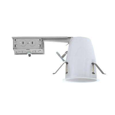 4 in. Aluminum LED Recessed Remodel Housing, IC-Rated Airtight IDEAL