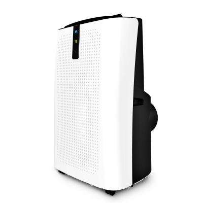 12,000 BTU Portable Air Conditioner with Dehumidifier with Remote in White