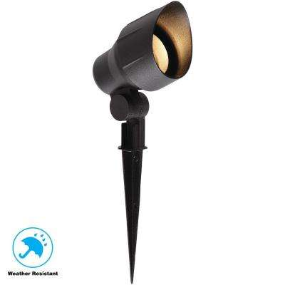 Low-Voltage 20-Watt (Bi-Pin) Black Outdoor Landscape  Flood Light