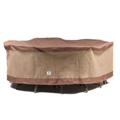 Ultimate 76 in. Round Patio Table and Chair Set Cover
