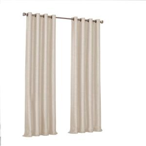 Presto Blackout Window Curtain Panel in Ivory - 52 in. W. x 95 in. L