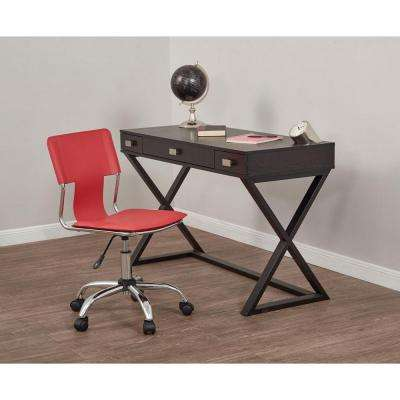Carina Red Office Chair