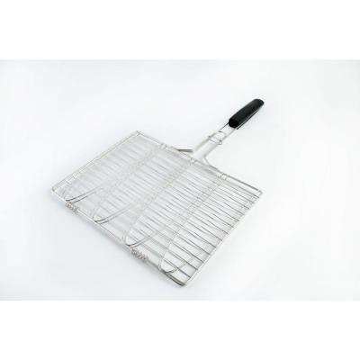 Stainless 4-Fish Grilling Basket