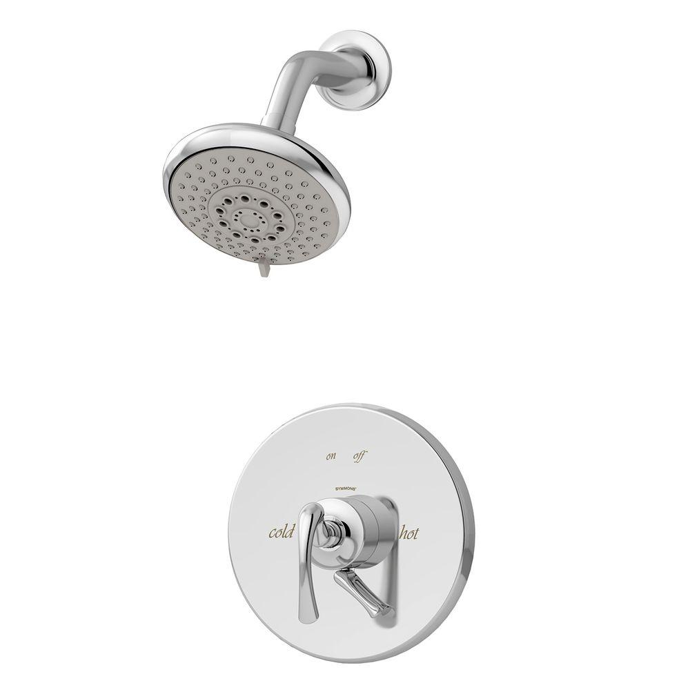 Symmons Ballina 2-Handle 3-Spray Shower Faucet in Chrome