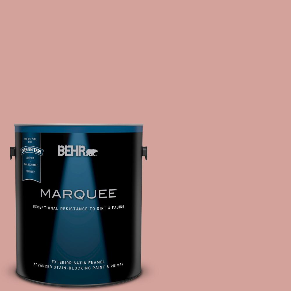 BEHR MARQUEE 1-gal. #S160-3 Bubble Shell Satin Enamel Exterior Paint