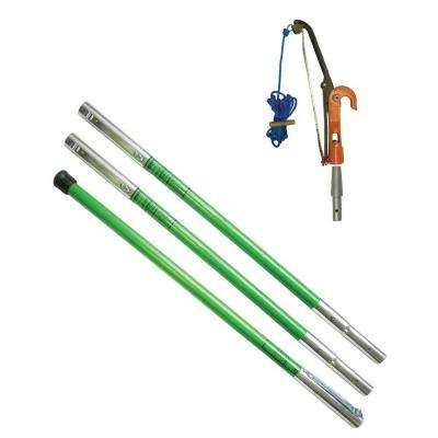 Landscaper PH-12 Tree Pruner Package with Three 6 ft. Poles
