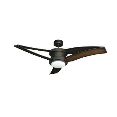 Triton II 52 in. Oil Rubbed Bronze Ceiling Fan