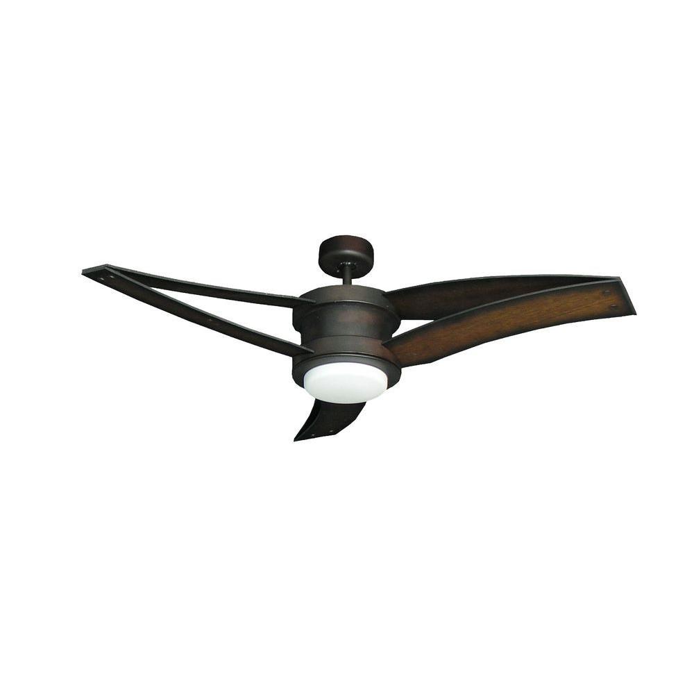 Triton II 52 in. Oil Rubbed Bronze Ceiling Fan