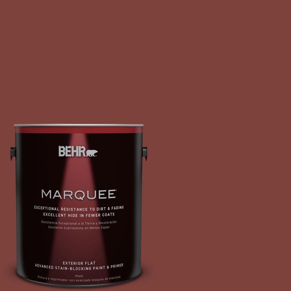 BEHR MARQUEE 1-gal. #S-H-160 Sly Fox Flat Exterior Paint