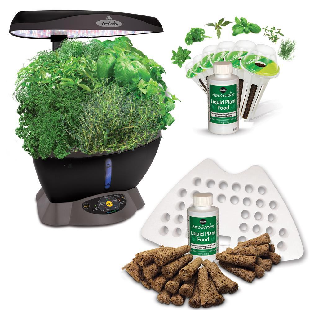 AeroGarden Classic 6 Smart Garden plus BONUS Seed Starting System