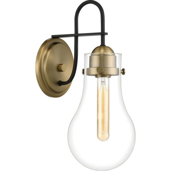Winstead 1-Light Weathered Brass Wall Sconce