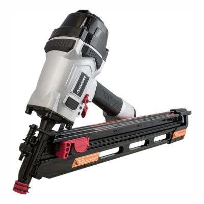 34-Degree Corded Pneumatic Clipped Head Framing Nailer