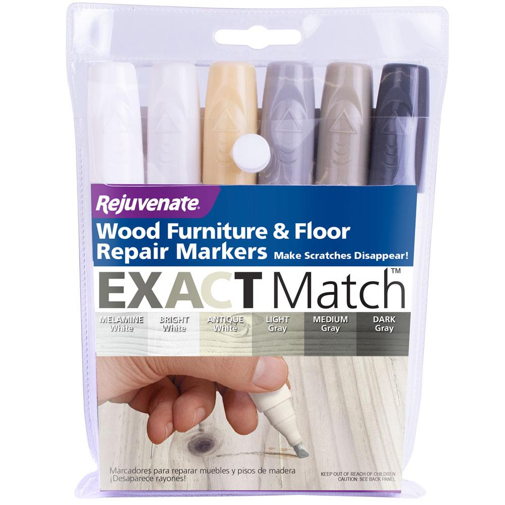 Rejuvenate Wood Furniture And Floor Repair Markers Wgwm The Home Depot