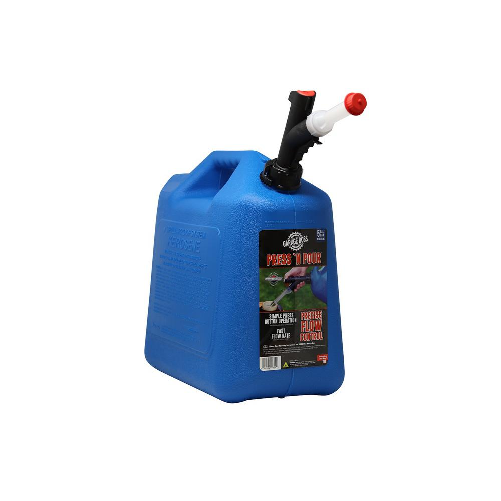 Garage Boss Press N Pour 5 Gal. Kerosene Can