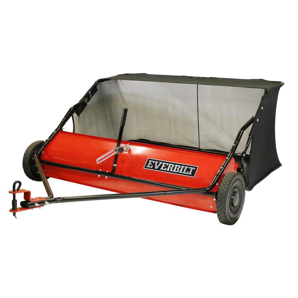 Everbilt 48 inch 15 cu. ft. Lawn Sweeper
