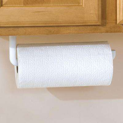 12.75 in. W x 0.875 in. D x 5 in. H Paper Towel Holder Pantry Organizer