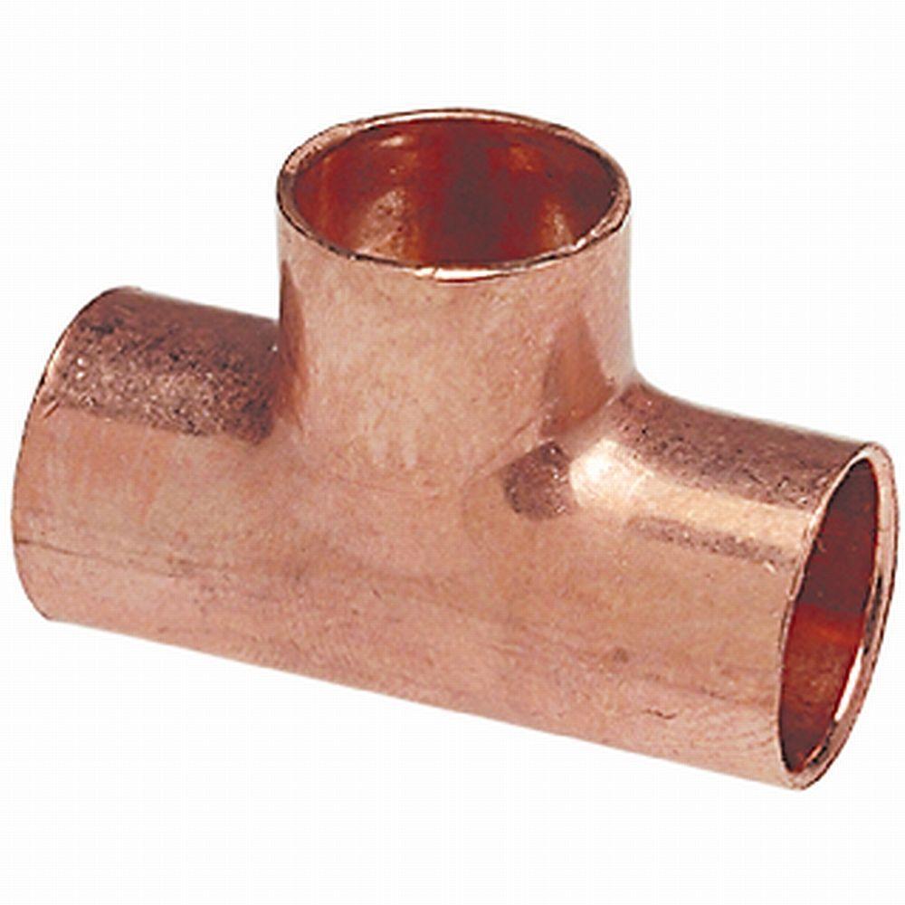 MCP611 3/4 in. Copper Pressure C x C x C Tee (25-Pack)