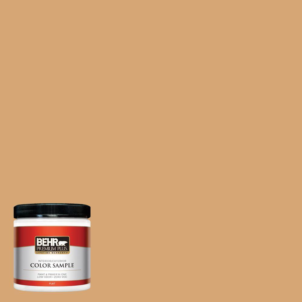 BEHR Premium Plus 8 oz. #M250-4 Cake Spice Interior/Exterior Paint Sample