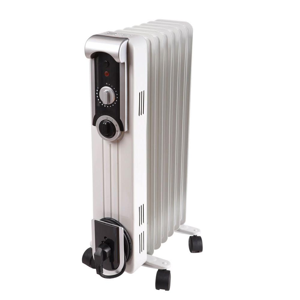 Comfort Glow 1500-Watt Electric Oil-Filled Radiant Portable Heater
