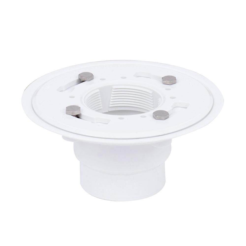 Oatey Pvc Shower Drain Base 422464 The Home Depot