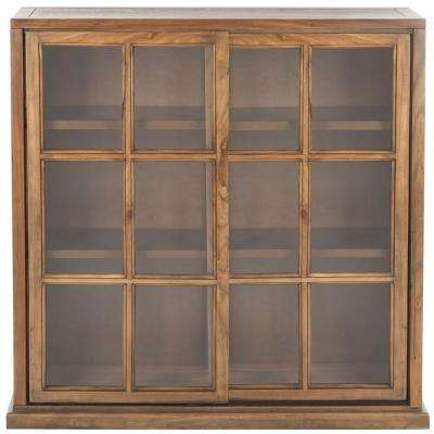 Greg Oak Glass Door Bookcase