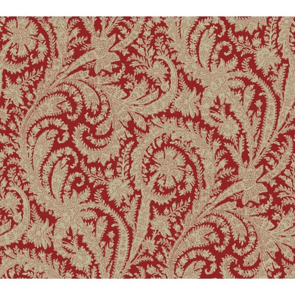 York Wallcoverings 60.75 sq. ft. Tailored Archive Paisley Wallpaper HO3310